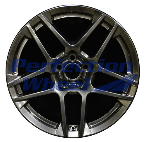 WAO.3913FT 19x9.5 Hyper Bright Smoked Silver Full Face