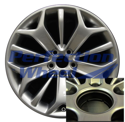 WAO.3925A 19x8.5 Hyper Medium Silver Full Face