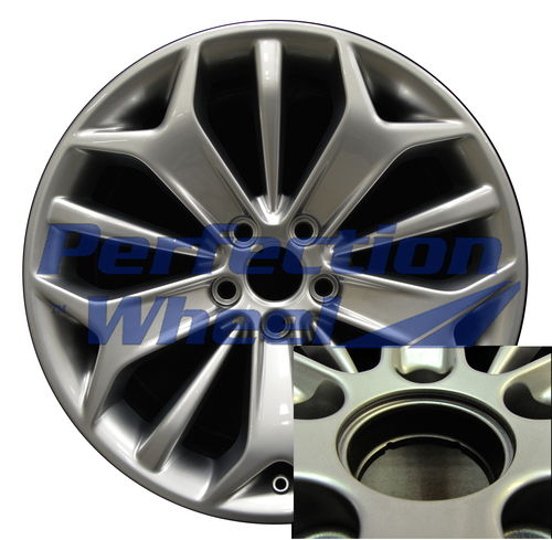 WAO.3925B 19x8.5 Hyper Medium Silver Full Face