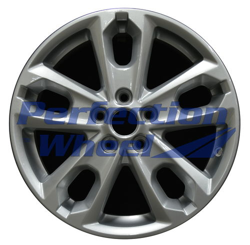 WAO.3976 17x6.5 Sparkle Blue Silver Full Face
