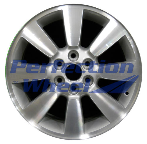 WAO.4073 17x6.5 Fine Sparkle Silver Machined