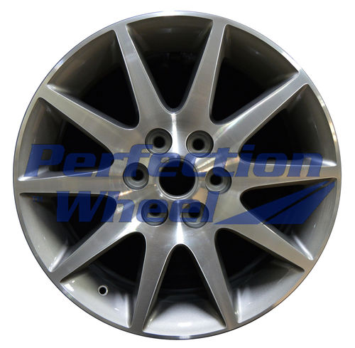 WAO.4131 19X7.5 Medium Metalic Charcoal Machined