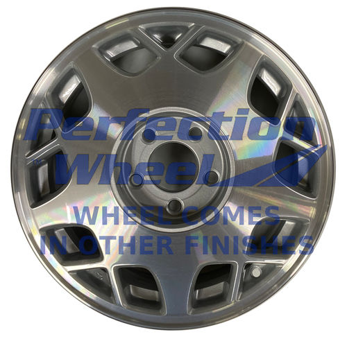 WAO.4520 16x7 Medium Sparkle Silver Machined