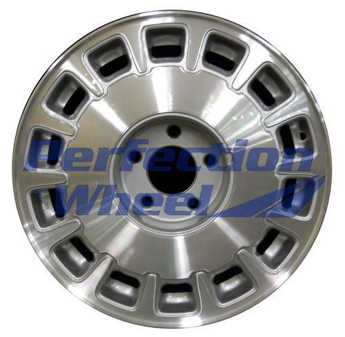 WAO.4525 16x7 Medium Sparkle Silver Machined