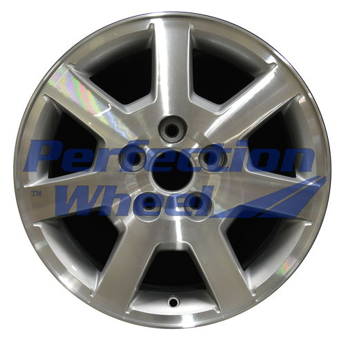 WAO.4555 16x7 Medium Sparkle Silver Machined