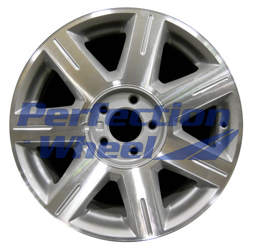 WAO.4600A 17x7 Medium Sparkle Silver Machined
