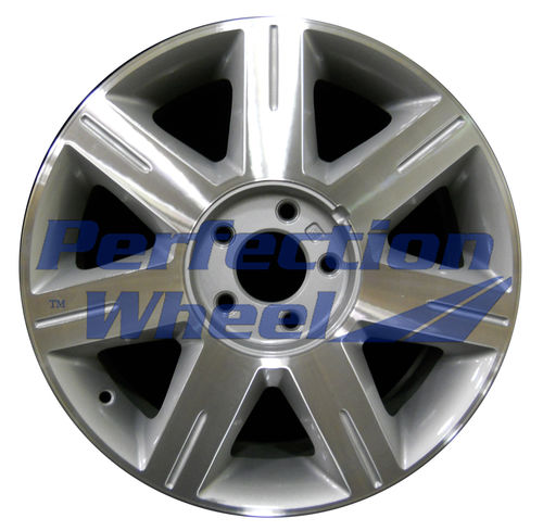 WAO.4600B 17x7 Medium Sparkle Silver Machined