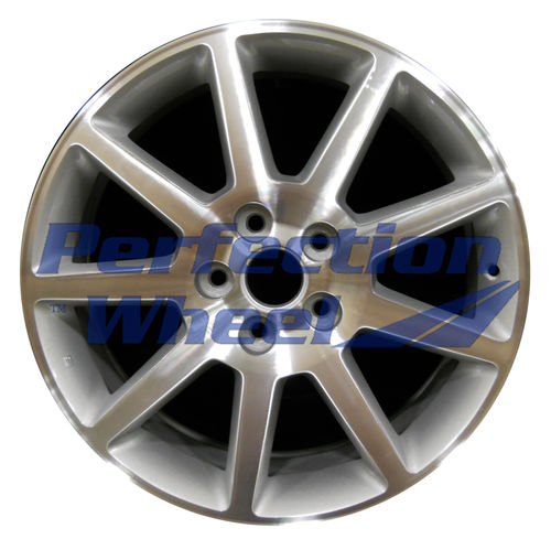 WAO.4604 18x7.5 Bright Sparkle Silver Machined