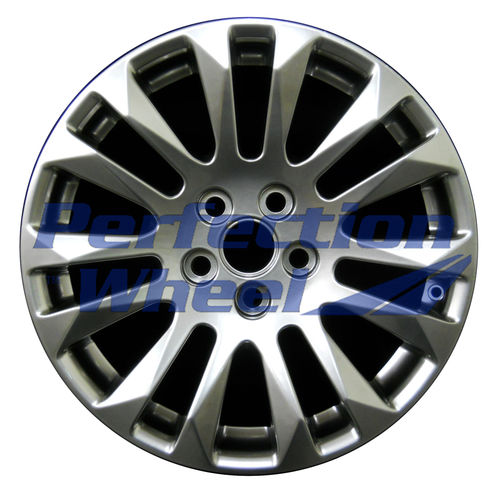 WAO.4669B 18x8.5 Hyper Bright Smoked Silver Full Face
