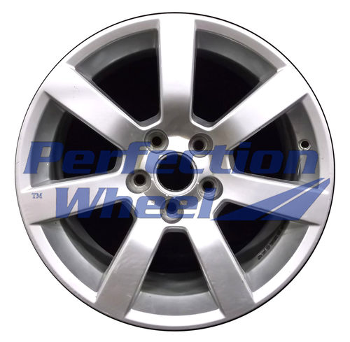 WAO.4701 17x8 Fine Bright Silver Full Face