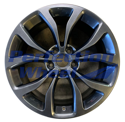WAO.4704FT 18x8 Hyper Dark Silver Full Face