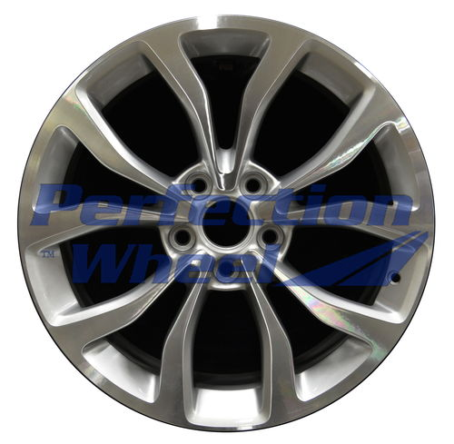 WAO.4706RE 18x9 Fine Bright Silver Machined
