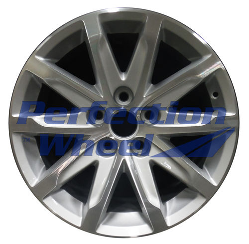 WAO.4712 17x8.5 Fine bright silver Machined Bright