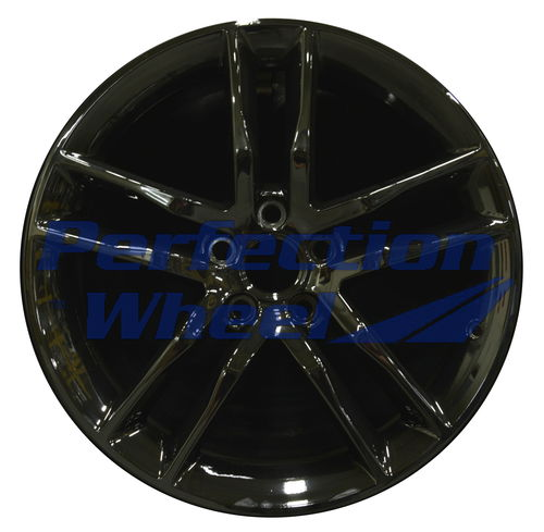WAO.4742FT 19x8 Black Full Face