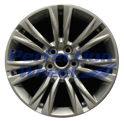 WAO.4818 19x8.5 Hyper Bright Silver Full Face