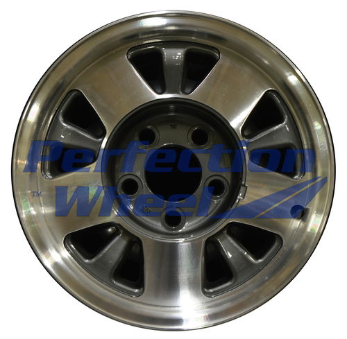 WAO.5016 15x7 Medium metallic charcoal Machined
