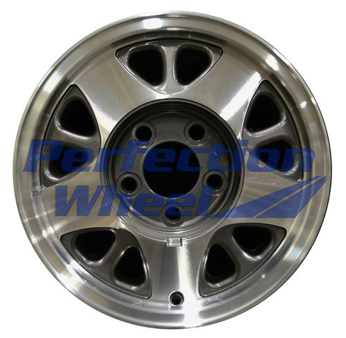 WAO.5025 15x6.5 Medium metallic charcoal Machined