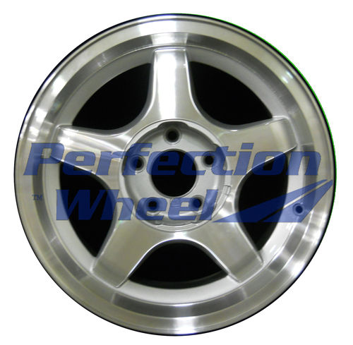 WAO.5026 17x8.5 Sparkle Silver Machined
