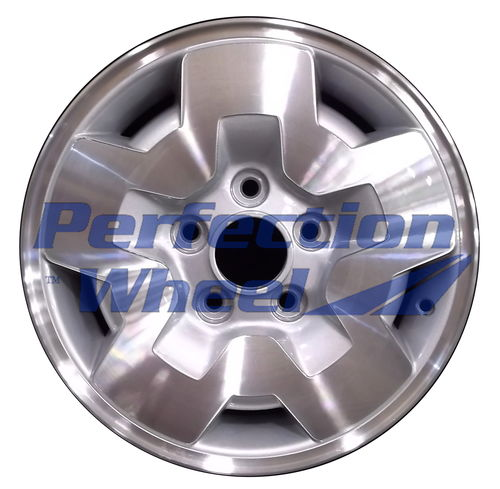 WAO.5031B 15x7 Medium Sparkle Silver Machined