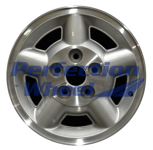 WAO.5038 15x7 Medium Sparkle Silver Machined