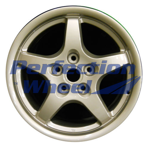WAO.5062RE 18x9.5 Goldish Sparkle Silver Full Face