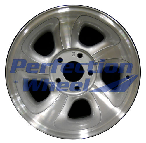 WAO.5063 15x7 Medium Sparkle Silver Machined