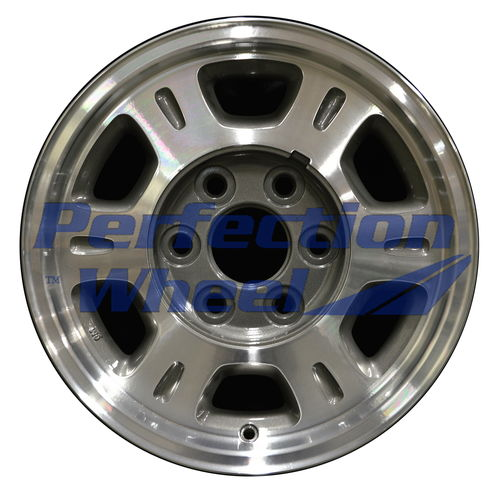 WAO.5077 16x7 Medium metallic charcoal Machined