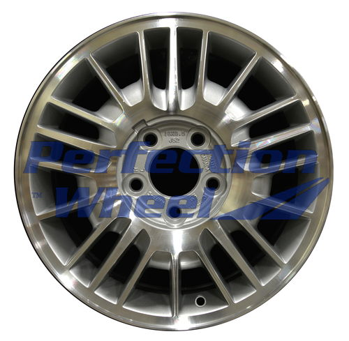WAO.5083B 16x6.5 Medium Sparkle Silver Machined