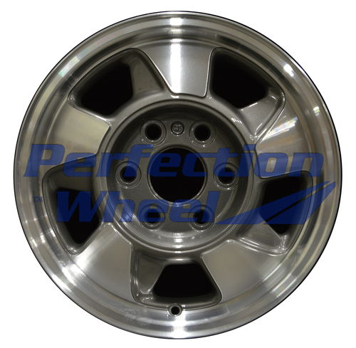 WAO.5096 16x7 Medium Metallic Charcoal Machined