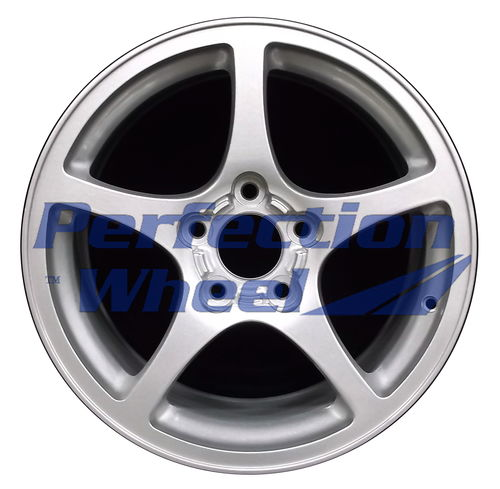 WAO.5102FT 17x8.5 Sparkle silver Full Face