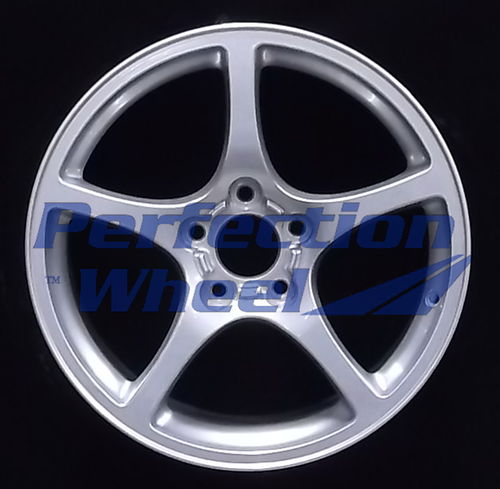 WAO.5104RE 18x9.5 Sparkle silver Full Face