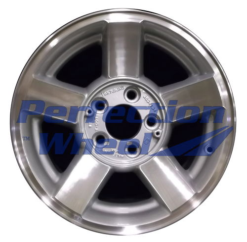 WAO.5108 16x7 Medium Sparkle Silver Machined