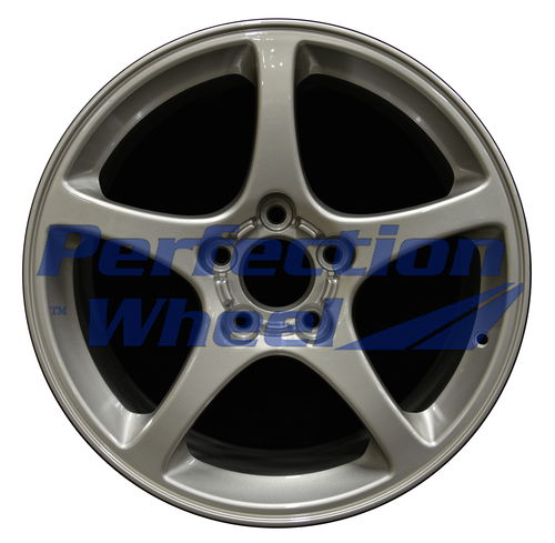 WAO.5121FT 17x8.5 Bright Fine Tan Metallic Silver Full Face