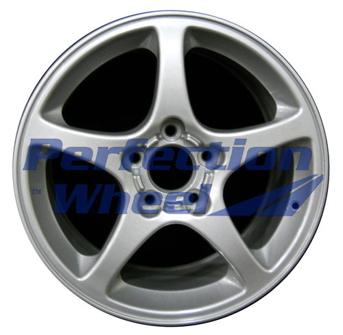 WAO.5121FT 17x8.5 Sparkle Silver Full Face