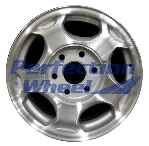 WAO.5154 16x7 Sparkle Silver Machined