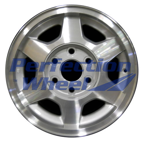 WAO.5156 16x7 Sparkle Silver Machined