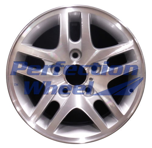 WAO.5157 15x7 Medium Sparkle Silver Machined