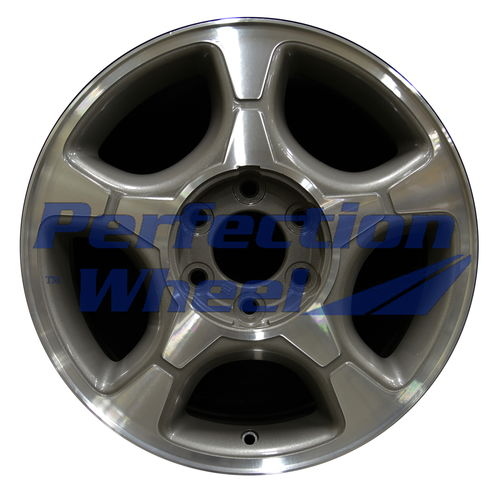 WAO.5170 17x7 Dark Argent Charcoal Machined