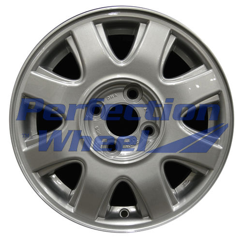 WAO.5180 14x5.5 Medium Sparkle Silver Full Face