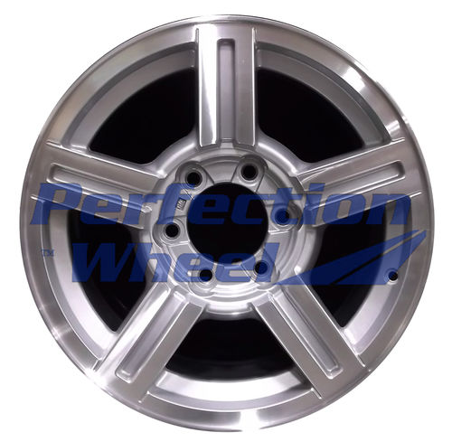 WAO.5184 17x8 Medium Sparkle Silver Machined