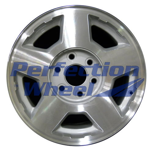 WAO.5196 17x7.5 Medium Sparkle Silver Machined
