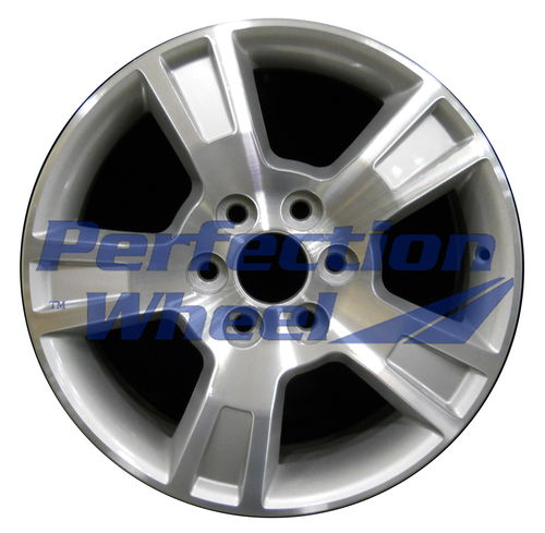 WAO.5280 18x7.5 Bright sparkle silver Machined