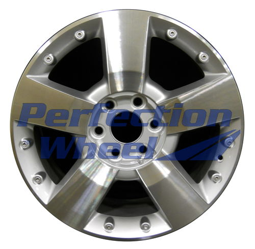 WAO.5282 19x7.5 Bright fine silver Machined