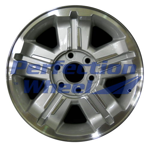 WAO.5300 18x8 Bright sparkle silver Machined