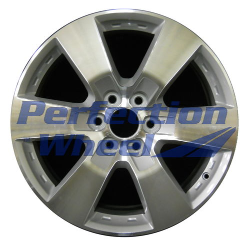 WAO.5406 20x7.5 Medium Sparkle Silver Machined