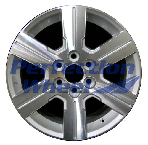 WAO.5408 18x7.5 Bright fine silver Machined