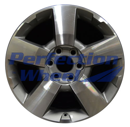 WAO.5430 19x7.5 Medium Metalic Charcoal Machined