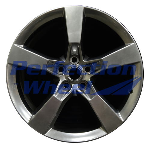 WAO.5445RE 20x9 Hyper Bright Smoked Silver Full Face