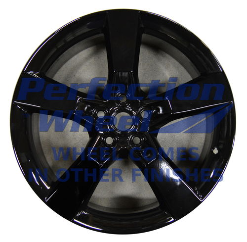 WAO.5445RE 20x9 Black Full Face