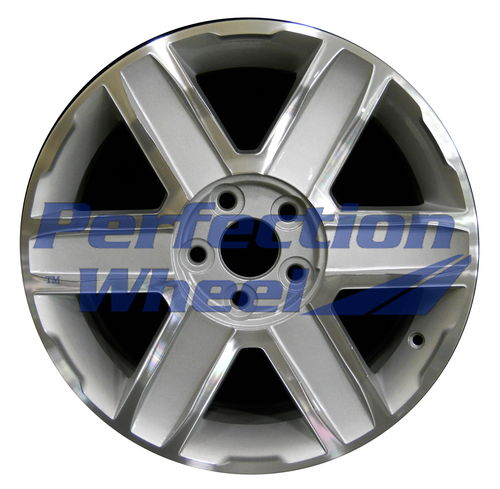 WAO.5450 18x7 Bright sparkle silver Machined